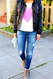 Skinny Jeans With Holes Diy Perfectly Distressed Jeans Say Yessay Yes