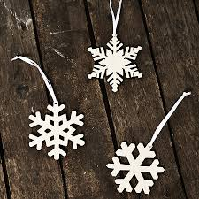 arctic snowflake decorations by