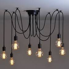 Hanging Ceiling Lights Ideas Great Edison Ceiling Light Hanging Ceiling Lights