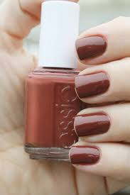 essie very structured classic blend of chocolate brown and brick