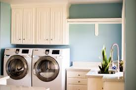 Laundry Room Cabinets With Hanging Rod Laundry Room Counter Space Hanging Bar Utility Sink