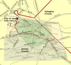 fairfax county map where is falls church exactly greater greater washington