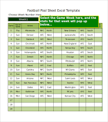 Stat Sheet Template Football Pool Template 21 Free Word Excel Pdf Documents