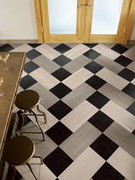 Flooring  Rugs Awesome Pattern Of Vct Tile Flooring Matched With - Interesting interior design ideas