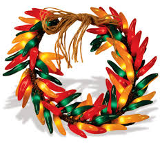 chili pepper wreath led light wreath birddog distributing