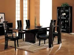 Glass Dining Tables And 6 Chairs Glass Top Dining Table Set 4 Chairs Black Glass Table Set 6 Chair