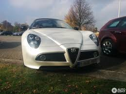 alfa romeo 8c alfa romeo 8c spider 29 october 2016 autogespot