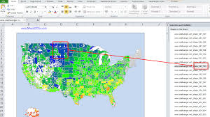Us Zip Code Map by Us Excel Map Add In Zip Code Postcode Map