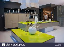 paris france contemporary design kitchen at trade show