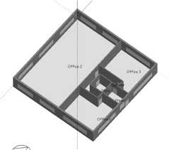 Floor Plan Of Office Building Plan Of Simple Deep Plan Office Building Building 2