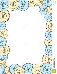 Invitation Card Border Design Circles Frame Border Invitation Card Stock Illustration Image