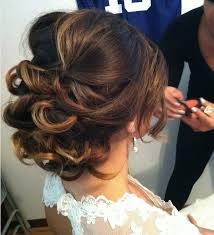 chagne pour mariage chignon de mariage simple coiffure en image