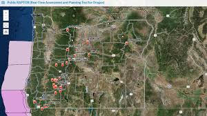 traffic map wildfires and evacuations eclipse visitors and traffic jams this