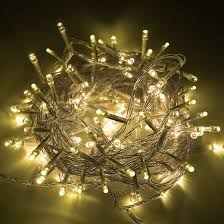 100 led twinkle connectable lights with 8 lighting modes
