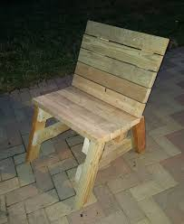 2x4 Outdoor Furniture by Tilted 2x4 Chair Build Youtube