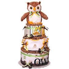 forest night owl diaper cake 119 00 diaper cakes mall unique