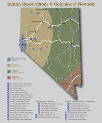 Native American Map Of Usa by Map Of Nevada Tribes U2013 Nevada Indian Territory