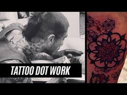 tattoo dot work time lapse u0026 making of youtube