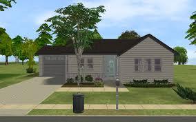 mod small suburban house
