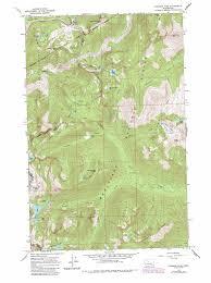 Map Of Lake Washington by Stevens Pass Topographic Map Wa Usgs Topo Quad 47121f1