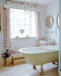 bathroom curtain ideas for windows beautiful white bathroom window curtains ideas with flowers patterns