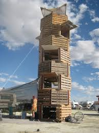 some pallet structures for inspiration pallets tower and