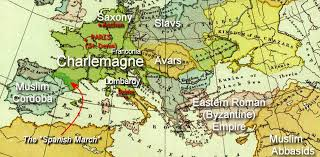 Holy Roman Empire Map Charlemagne And Christian Expansion Google Search Charlemagne