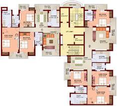 high rise apartment floor plans apartment 4 unit apartment plans