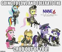 My Little Pony Meme Generator - i take no credit to the meme template someone posted it here on