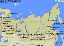 Trans Siberian Railway Trains Map and Tickets Cost Way to