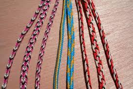 woven bracelet with cross images Start here 5 loop braids loop braiding jpg