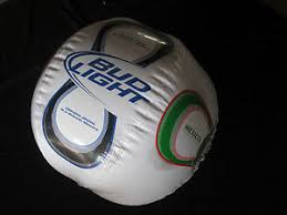 bud light party ball bud light beer mexico soccer beach ball inflatable blowup pool party