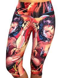 Wonder Woman Workout Clothes Sadhana Wonder Woman Xi Capris