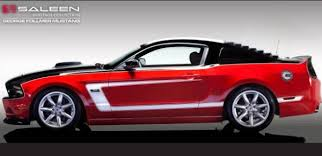 Mustang Boss 302 Black And Red Saleen Introduces The George Follmer Edition Ford Mustang Torque