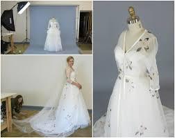 custom wedding dress photo shoot and delivery day for cameron s custom wedding dress