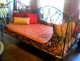 daybed stunning wrought iron daybed hannah daybed by wesley