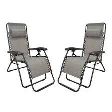 Gravity Chair Replacement Cord Zero Gravity Recliner Gray 2 Pack Caravan Canopy 80009000122