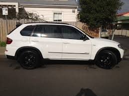 Bmw X5 White - my new white x5 40d sports