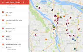 Downtown Portland Map by Directory Of Portland Black Owned Eateries Support Black Owned