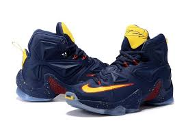 Nike Lebron 13 nike lebron 13 cavs navy yellow wine