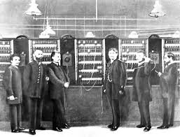 history of telephone siemens history site news first public telephone exchange in