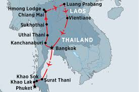 Thailand Blank Map by Thailand Tours Travel U0026 Trips Peregrine Adventures
