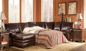 Leather Sectional Sofa Sleeper Good Leather Sleeper Sofa Sofafurniture Info