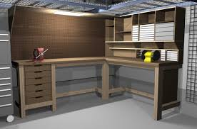 Build Wood Garage Cabinets by Garage Workbench Home Design By Larizza