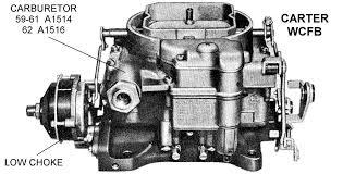 carter wcfb carburetor low choke diagram view chicago