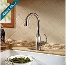 price pfister kitchen faucet warranty stainless steel avanti 1 handle pull kitchen faucet f 529