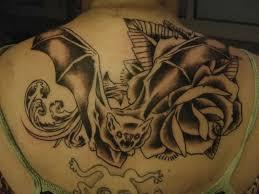 grey ink rose vine around anchor tattoo tattooshunter com