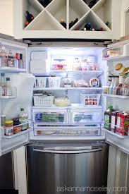 tips for organizing a small fridge ask anna
