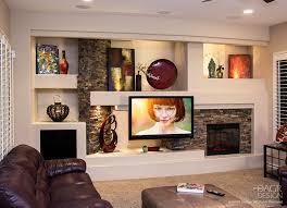 Living Room Lighting Design Media Wall Design Inspiration Gallery Dagr Design