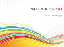 Abstract Color Flow Powerpoint Template Background In Powerpoint Theme Ppt 2010